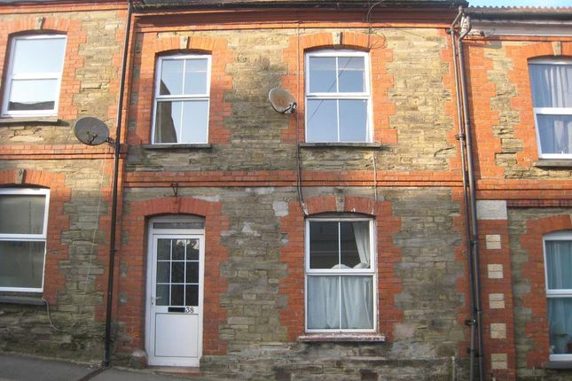 Thumbnail Terraced house to rent in Pound Street, Liskeard, Cornwall