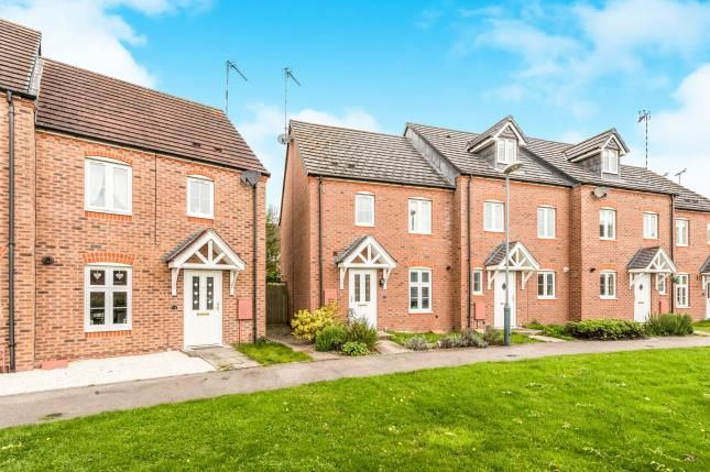 Thumbnail End terrace house for sale in The Marish, Chase Meadow, Warwick, Warwickshire