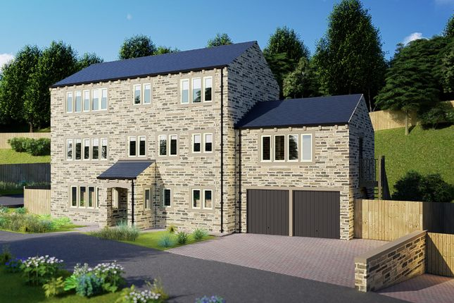 Thumbnail Detached house for sale in Thirstin Mills, Thirstin Road, Honley