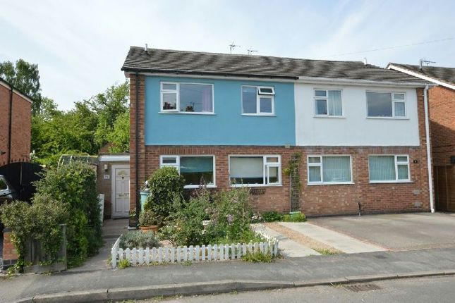Thumbnail Semi-detached house for sale in Petersfield, Croft, Leicester