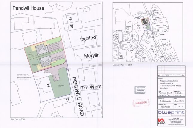 Land for sale in pendwll road moss wrexham ll11 zoopla pendwll road moss wrexham ll11 malvernweather Choice Image