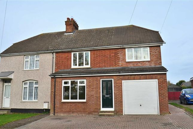 Thumbnail Semi-detached house for sale in High Road, Shillington, Hitchin