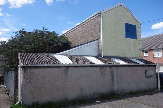 Side Elevation of The Ropewalk, Neath, 1Es. SA11