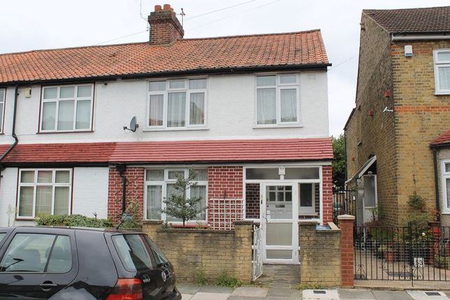 Thumbnail End terrace house for sale in Catisfield Road, Enfield
