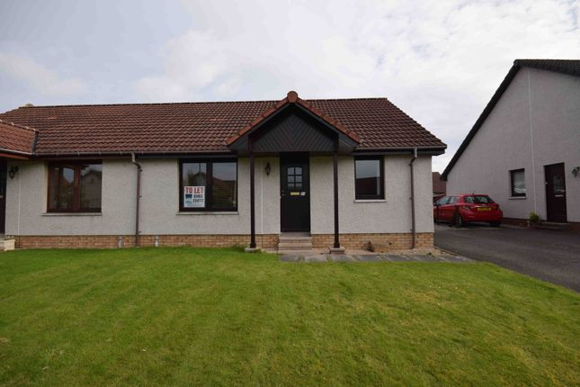 Thumbnail Semi-detached bungalow to rent in Castle Heather Crescent, Inverness