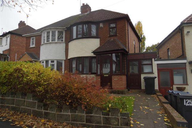 Semi-detached house in  Marsham Road  Kings Heath  Birmingham  Birmingham