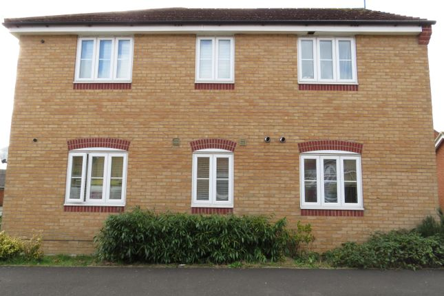 Thumbnail Flat to rent in Hatfield Close, Corby