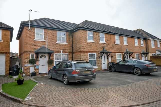 Thumbnail End terrace house for sale in Pasture Close, Swindon