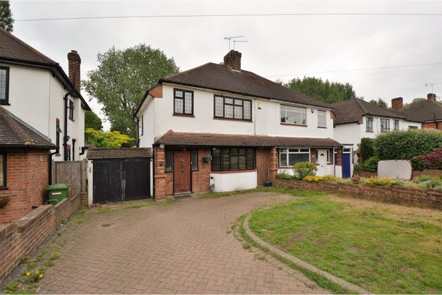 Thumbnail Semi-detached house for sale in Friars Avenue, Brentwood
