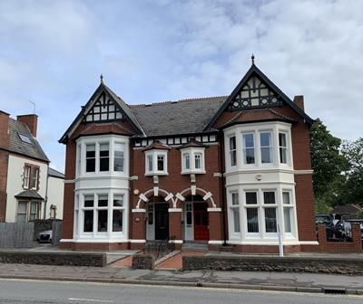 Thumbnail Office for sale in 14 North Road, Cardiff