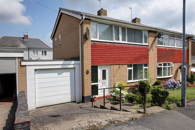 Thumbnail Semi-detached house for sale in Hillmeads, Nettlesworth, Chester Le Street