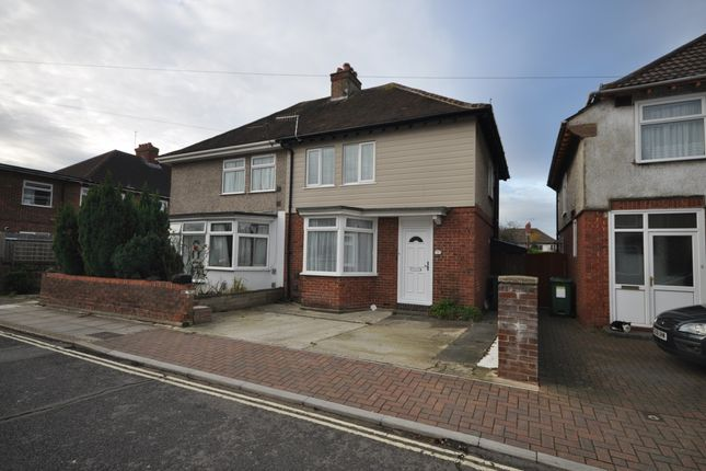 Thumbnail Semi-detached house to rent in Pitreavie Road, Cosham, Portsmouth
