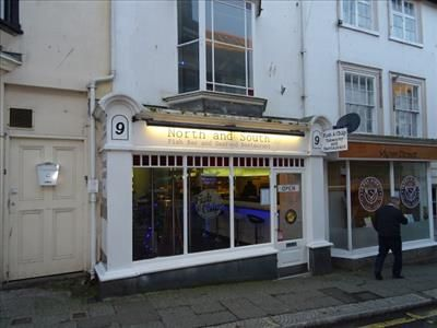 Restaurant/cafe for sale in North & South, Fish Bar & Restaurant, 9 Meneage Street, Helston, Cornwall