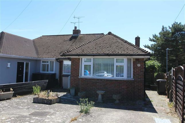 Thumbnail Semi-detached bungalow for sale in Collinswood Drive, St Leonards-On-Sea, East Sussex