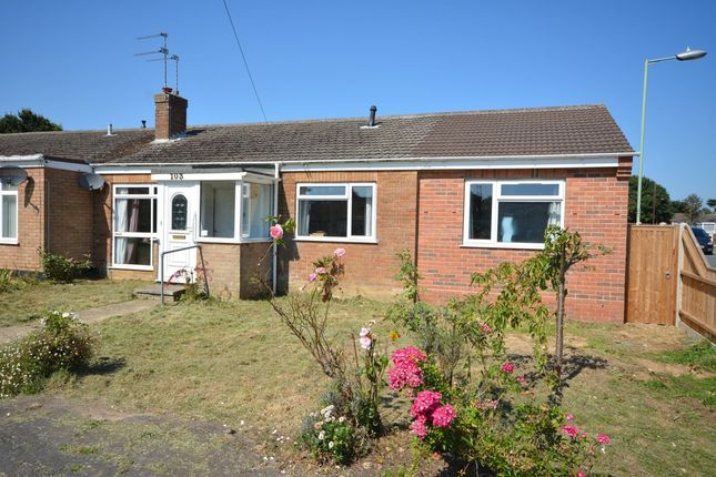 Thumbnail Semi-detached bungalow for sale in Lloyds Avenue, Kessingland, Lowestoft