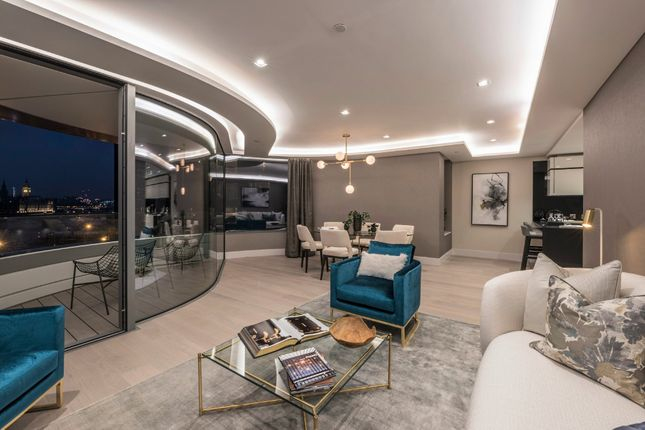 Thumbnail Flat to rent in The Corniche, 21 Albert Embankment, London