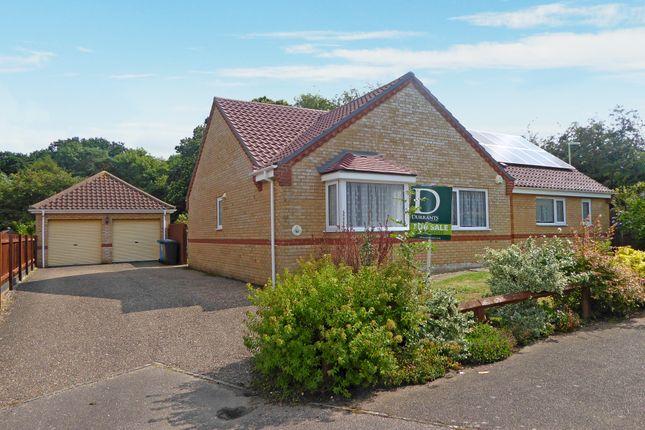 Thumbnail Detached bungalow for sale in Primrose Rise, Worlingham, Beccles