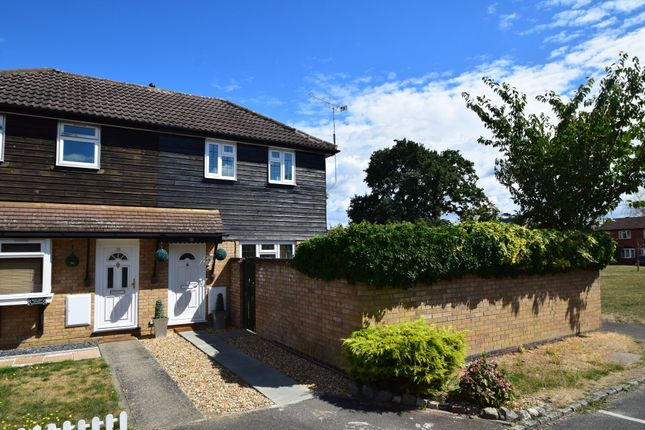 Thumbnail Terraced house for sale in Wargrove Drive, College Town, Sandhurst