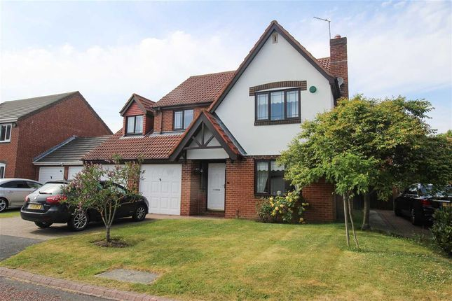 Thumbnail Detached house for sale in Epwell Grove, Hartford Green, Cramlington