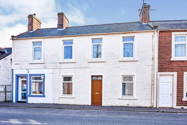 Thumbnail End terrace house for sale in Queen Street, Lochmaben, Lockerbie, Dumfries And Galloway