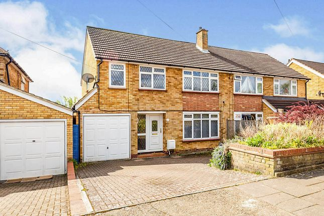 Thumbnail Semi-detached house for sale in Manton Road, Hitchin, Hertfordshire