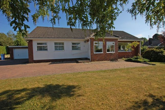 Thumbnail Detached bungalow for sale in Fellside Close, Ponteland, Newcastle Upon Tyne