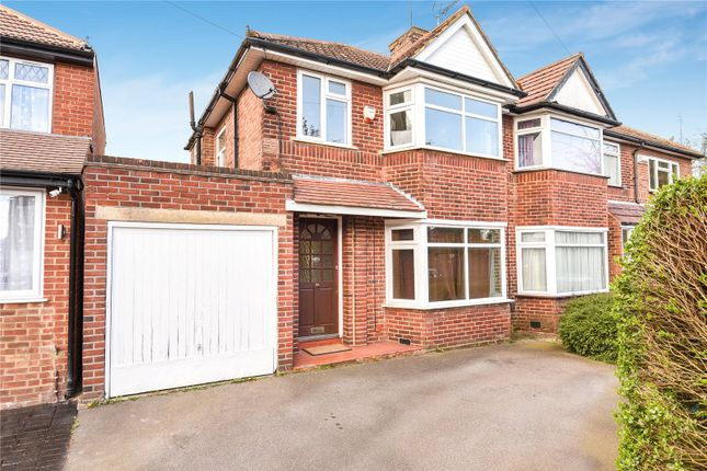 Thumbnail Semi-detached house for sale in Derwent Crescent, Stanmore, Middlesex