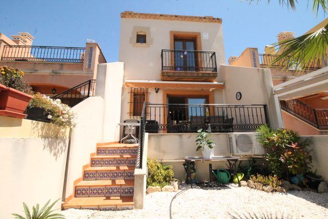 Thumbnail Town house for sale in Calle Benferri, La Finca Golf, Alicante, Valencia, Spain