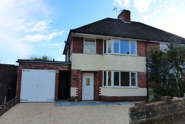 Thumbnail Semi-detached house for sale in Hillside Avenue, Ashbourne