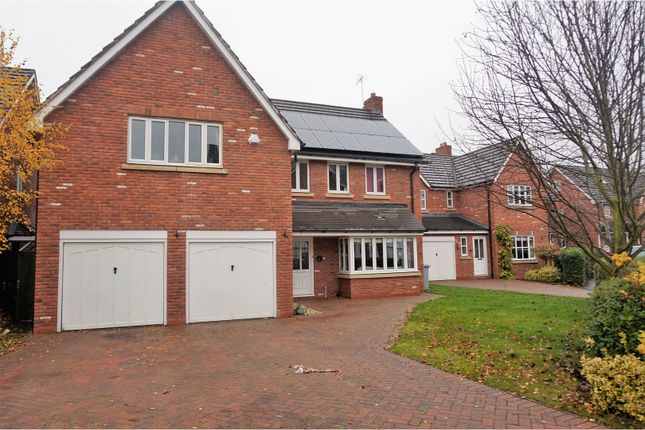 Thumbnail Detached house for sale in Haydn Jones Drive, Nantwich