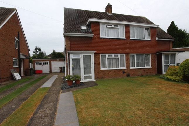 Thumbnail Semi-detached house for sale in Repton Close, Carshalton