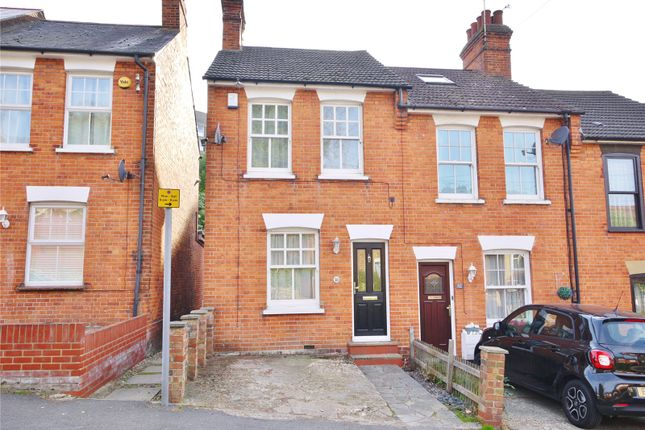 Thumbnail End terrace house for sale in Weald Road, Brentwood, Essex
