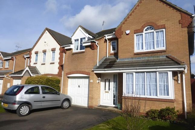Thumbnail Detached house to rent in Fox Hollow, Oadby, Leicester