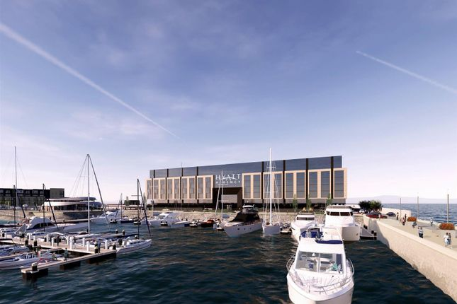 Thumbnail Flat for sale in Royal Wharf, Edinburgh Marina, Edinburgh