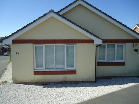 Thumbnail Detached bungalow to rent in Old Roselyon Road, St. Blazey, Par