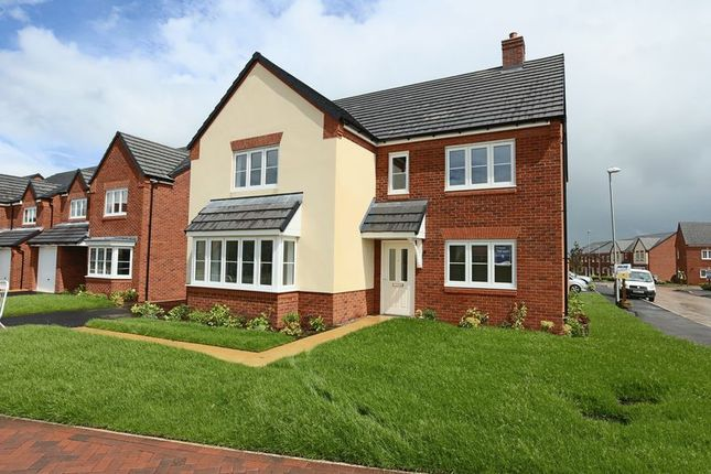 Thumbnail Detached house for sale in Plot 5, Pear Tree Meadows, Nantwich