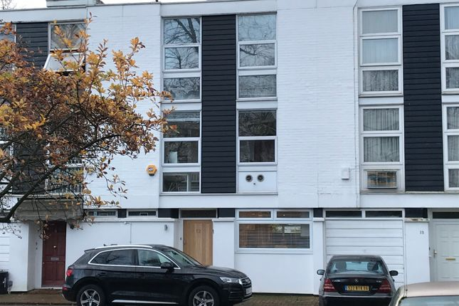 Thumbnail 5 bed town house for sale in Briary Close, Swiss Cottage