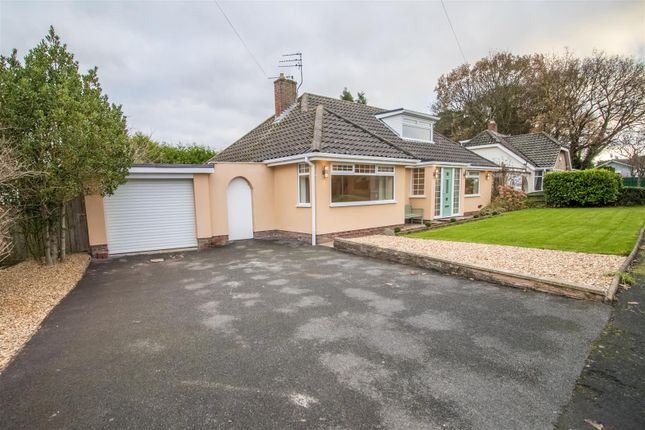 Thumbnail Detached bungalow for sale in Rhodesway, Heswall, Wirral