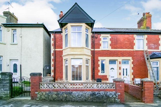 3 bed end terrace house for sale in Station Road, Rhoose, Barry CF62