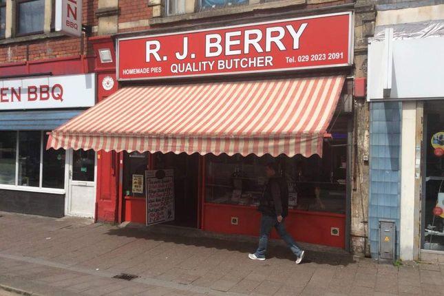 Thumbnail Retail premises for sale in West Lee, Cowbridge Road East, Cardiff