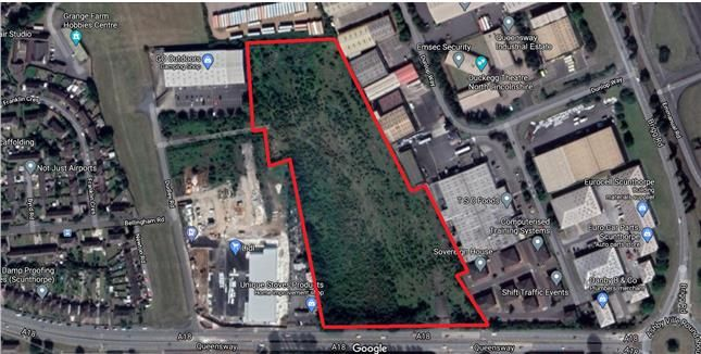 Thumbnail Land for sale in Acres Of Land, Queensway Industrial Estate, Queensway, Scunthorpe, North Lincolnshire