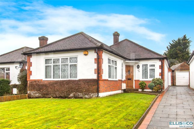 Thumbnail Detached bungalow for sale in Page Street, Mill Hill, London