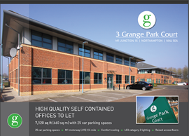 Thumbnail Office to let in Grange Park Court, Northampton