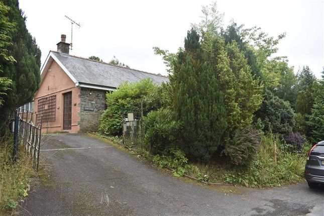 Thumbnail Detached bungalow for sale in Cribyn, Lampeter