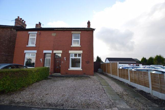 4 bed semi-detached house to rent in Moor Road, Croston, Leyland PR26
