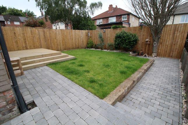 Rear Garden of Rockhill Road, Woolton L25