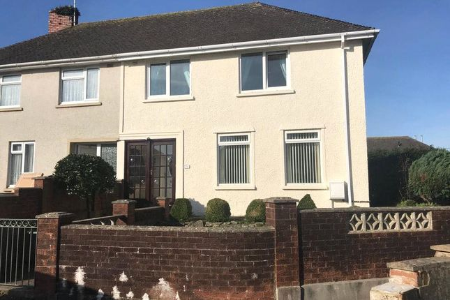 Thumbnail Semi-detached house to rent in Poyers Avenue, Pembroke, Pembrokeshire