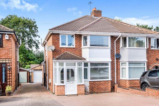 Thumbnail Semi-detached house for sale in Corinne Croft, Kingshurst, Birmingham