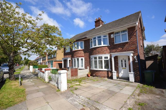 Thumbnail Semi-detached house to rent in Rosefield Avenue, Bebington, Wirral