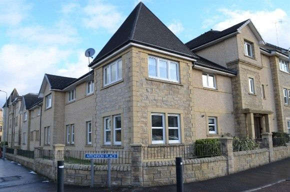 Thumbnail Flat to rent in Aitchison Place, Falkirk